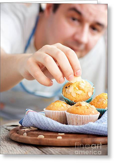 Delicious Muffins Greeting Card