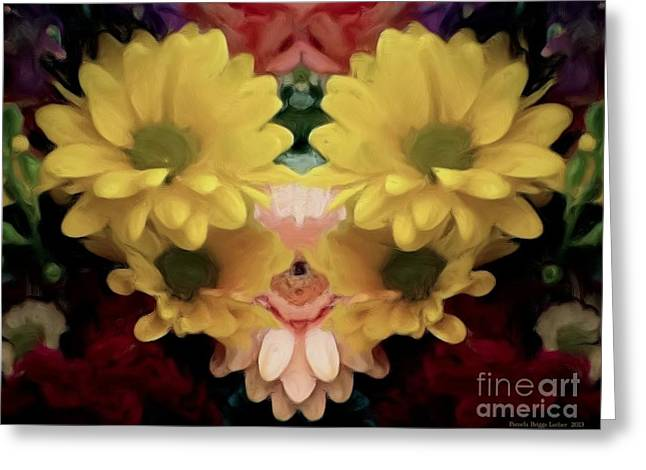 Greeting Card featuring the photograph Delightful Bouquet by Luther Fine Art