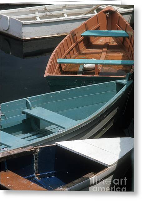 Delightful Dinghies Greeting Card by ELDavis Photography
