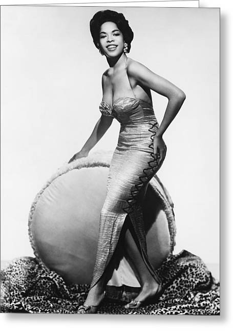 Della Reese Greeting Card by Silver Screen