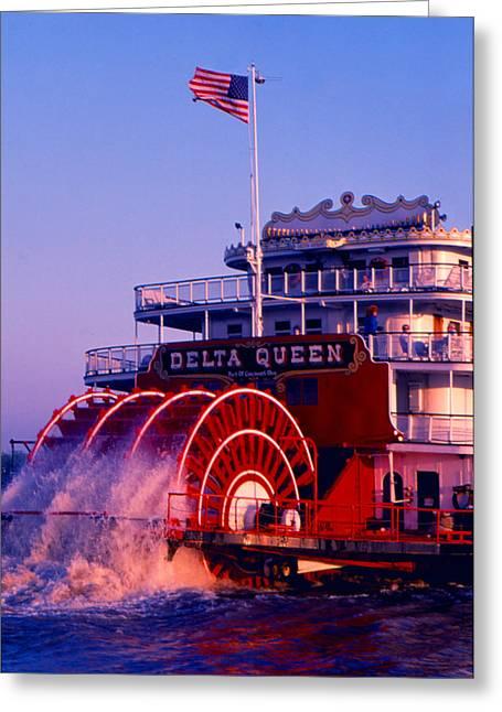 Delta Queen Greeting Card