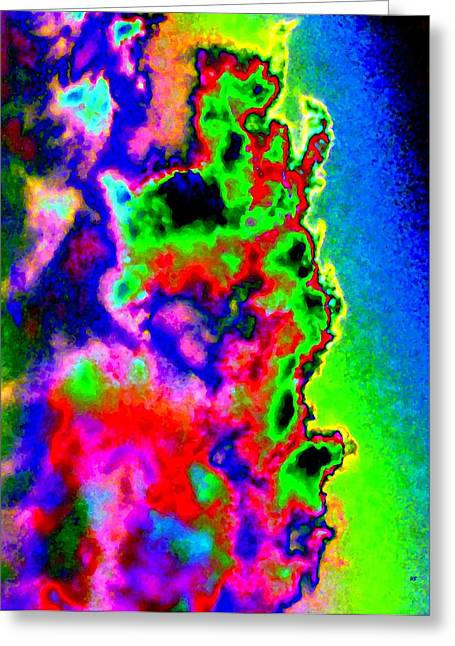 Deluxe Color Greeting Card by Will Borden