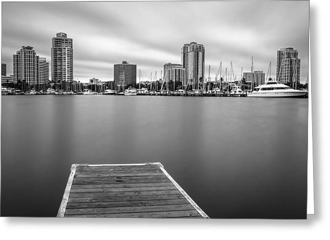 Demens Landing Greeting Card by Clay Townsend