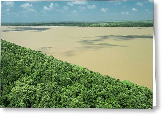 Demerara River, Guyana Greeting Card