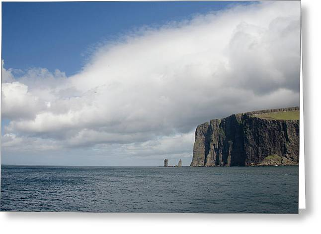Denmark, Faroe Islands, North Atlantic Greeting Card by Cindy Miller Hopkins