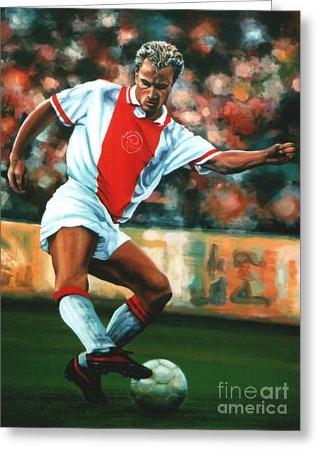 Dennis Bergkamp 2 Greeting Card