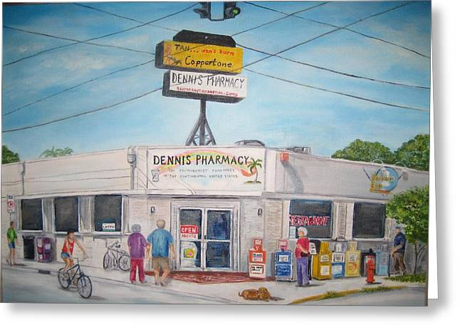 Dennis Pharmacy - No More Refills Greeting Card