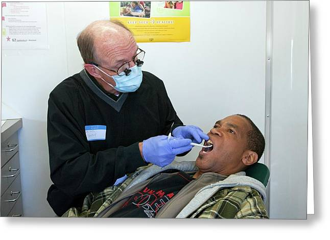 Dental Check-up Greeting Card by Jim West