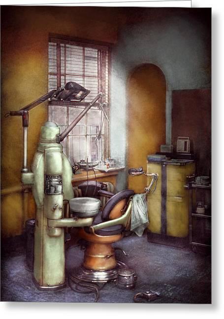 Dentist - Dental Office Circa 1940's Greeting Card