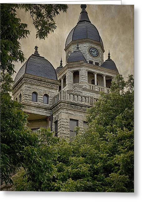 Denton County Courthouse Greeting Card