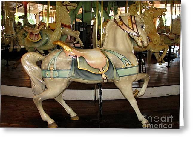 Dentzel Menagerie Carousel Horse Greeting Card