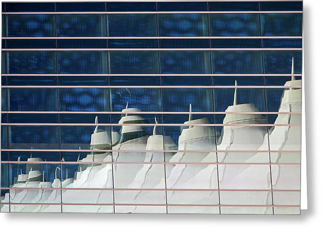 Denver International Airport Architecture Greeting Card by Jim West