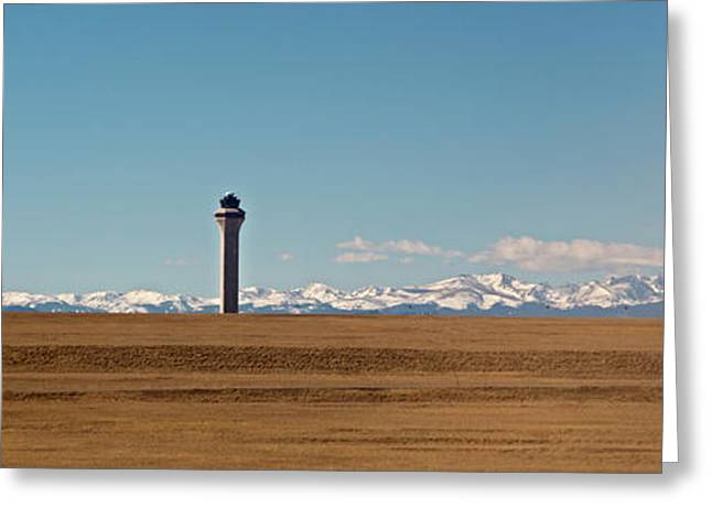 Denver International Airport Greeting Card by Jim West