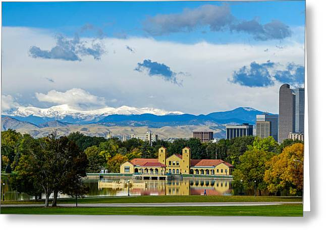 Denver's City Park Greeting Card