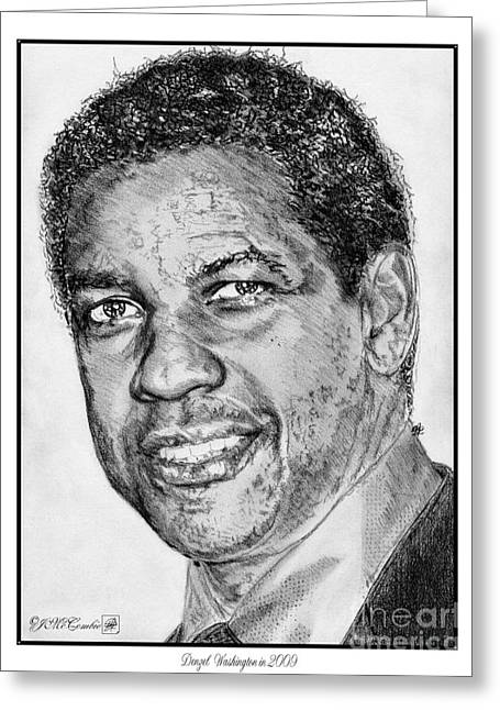 Denzel Washington In 2009 Greeting Card