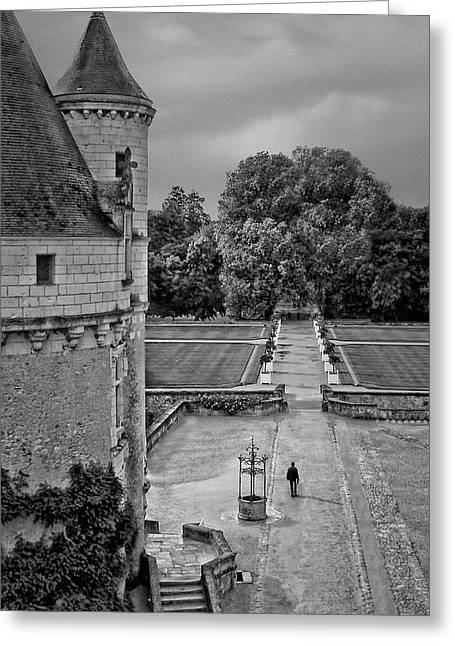 Departure - Chenonceau Greeting Card