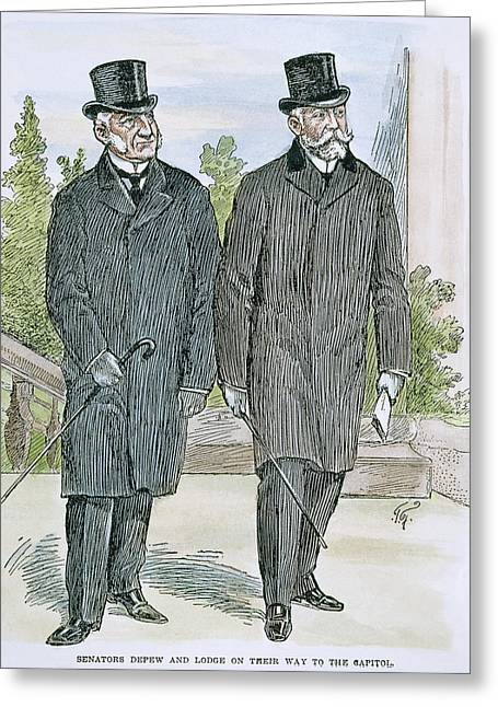 Depew And Lodge Greeting Card by Granger