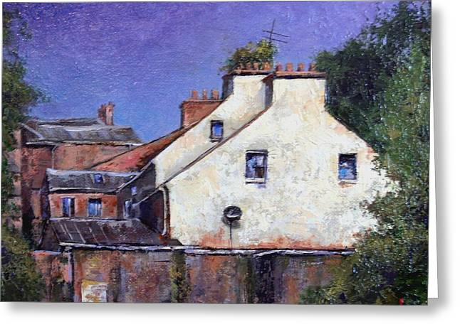 Derry Gables Greeting Card