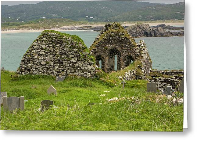 Derrynane Iveragh Peninsula County Greeting Card by Tom Norring
