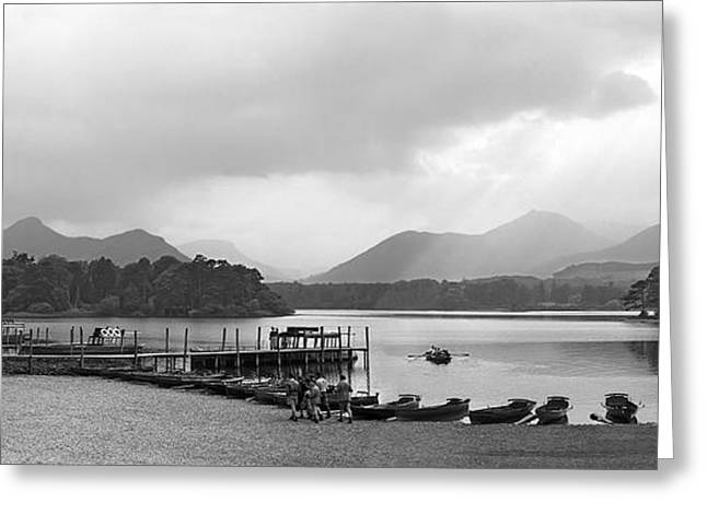Derwent Water In The Lake District Of England Greeting Card by David Murphy