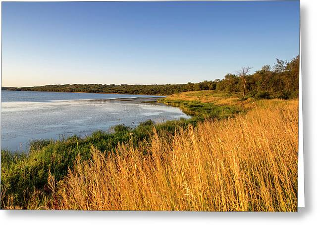 Des Lacs National Wildlife Refuge Greeting Card by Chuck Haney