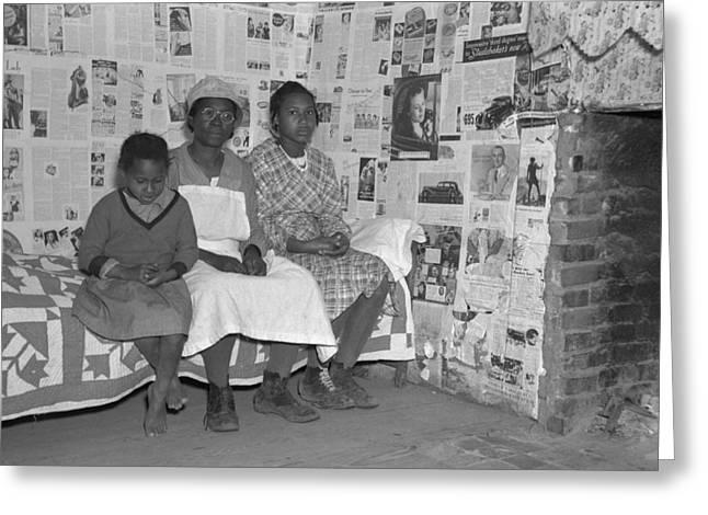 Descendants Of Slaves, 1937 Greeting Card by Granger