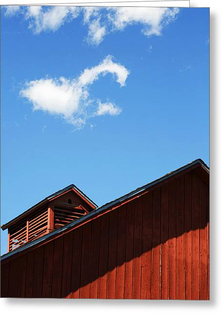 Descending Clouds Greeting Card by Marilyn Hunt