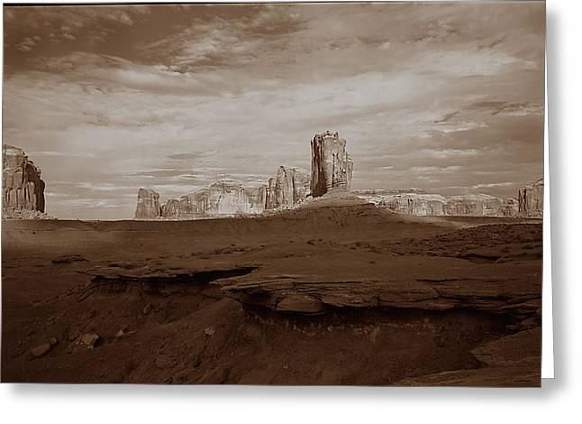 Desert 3  Greeting Card