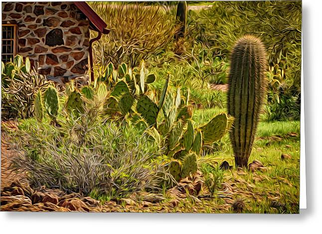 Greeting Card featuring the photograph Desert Dream by Mark Myhaver
