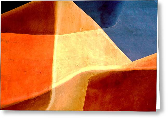 Desert Dunes Number 1 Greeting Card by Carol Leigh