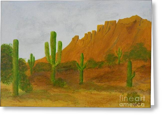 Desert Forest Greeting Card