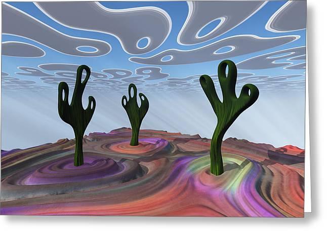 Desert Gathering Greeting Card