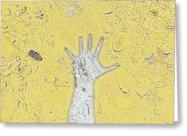 Desert Hand Greeting Card
