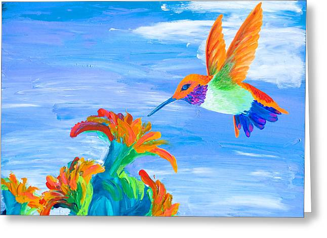 Desert Jewel Greeting Card by Tracy L Teeter