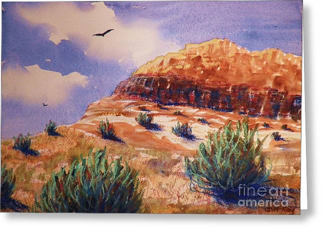Desert Mesa Greeting Card