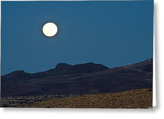 Desert Moon Greeting Card