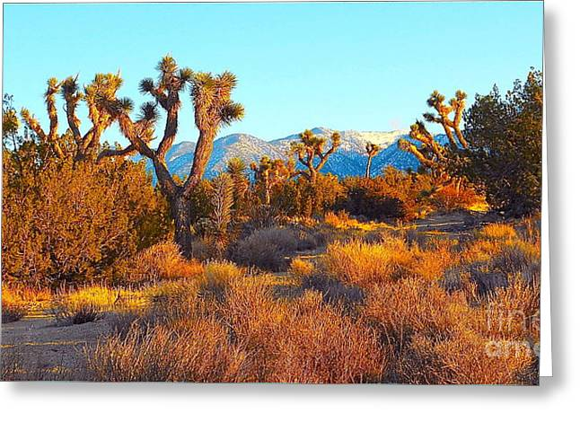 Desert Mountain Greeting Card