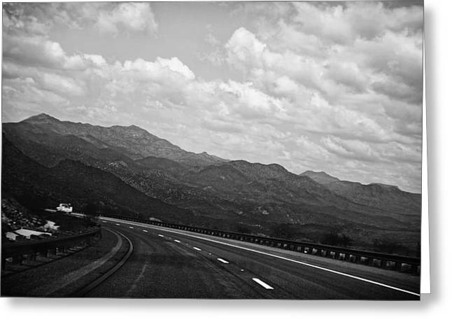 Desert Mountain Scenic Route Greeting Card by Isabel Antonelli