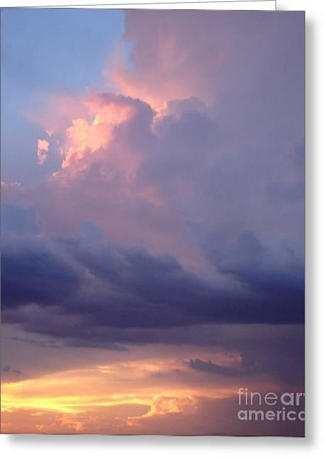 Desert Rainstorm 6 Greeting Card by Kerri Mortenson
