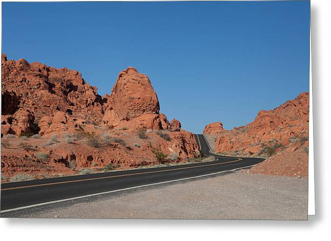 Desert Rock Formations Greeting Card