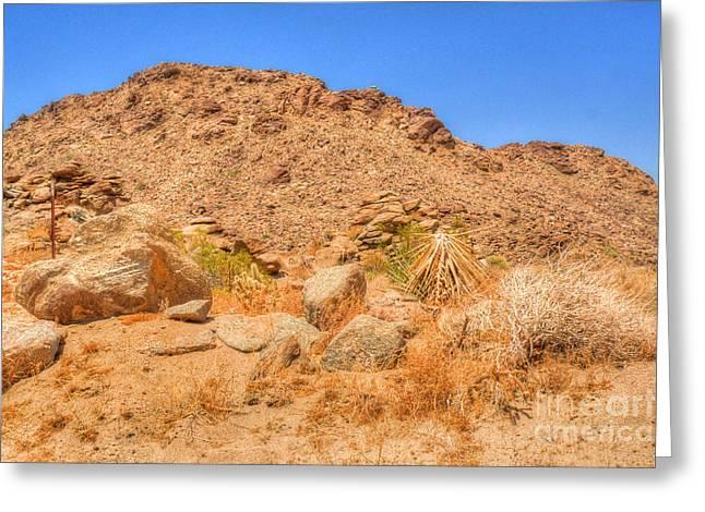 Desert Rocks Greeting Card by Deborah Smolinske