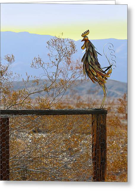 Desert Sentinel Greeting Card by Dan Redmon