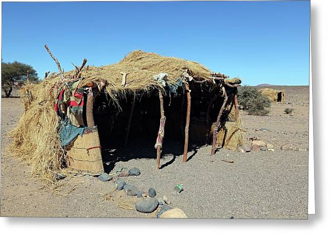 Desert Shelter Greeting Card