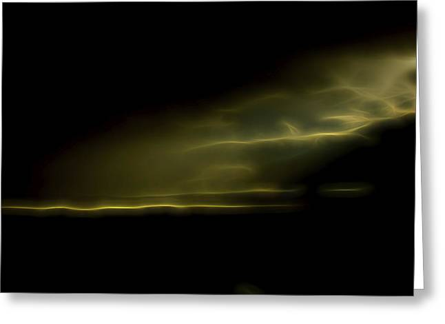 Desert Spotlight Greeting Card by William Horden
