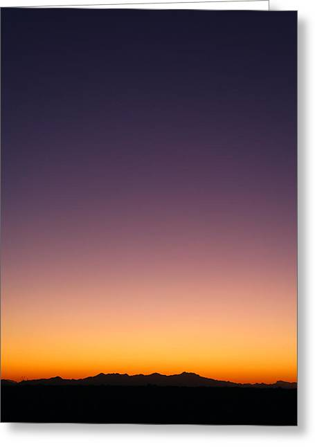 Desert Twilight Greeting Card