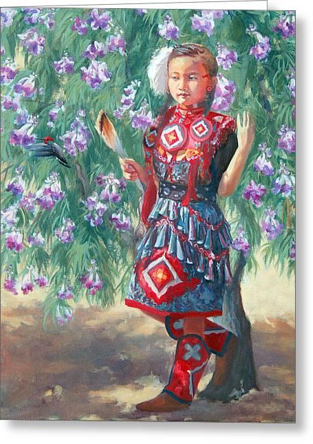 Desert Willow Greeting Card