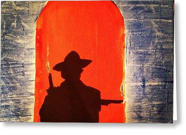 Unforgiven Greeting Card