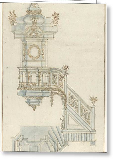 Design For A Pulpit Greeting Card