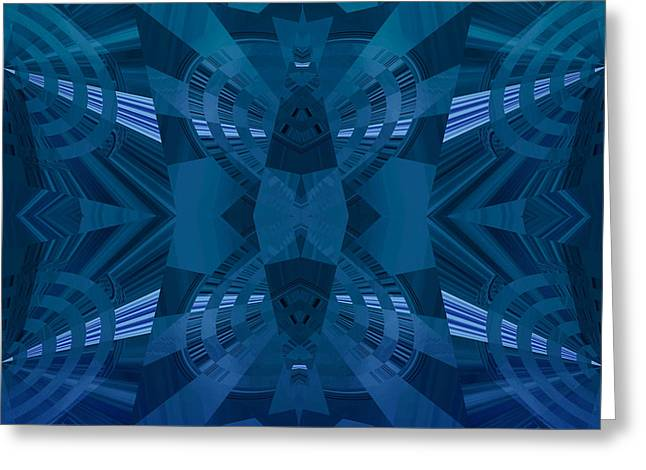 Design Spin 71 Greeting Card by Joe Connors