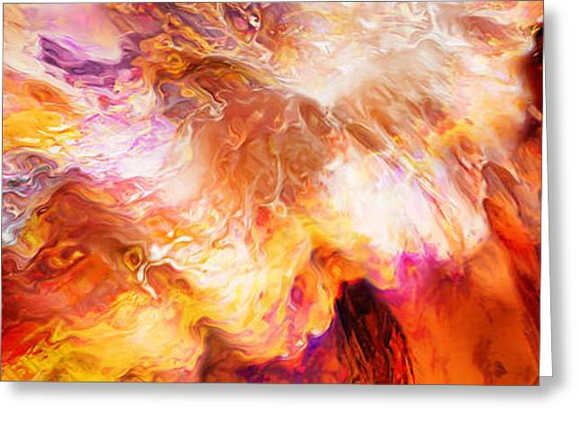 Desire - Abstract Art Greeting Card